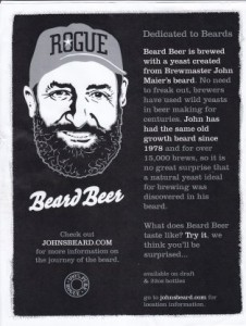 Rogue Brewing's Beard Beer