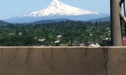 Mt Hood from the Marquam Bridge