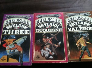 Books 2, 3 & 4 of The Skylark of Space series