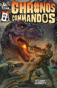 Chronos Commandos Cover