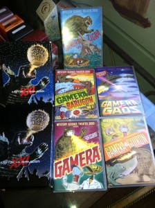 MST3K VS Gamera collector's tin and movies