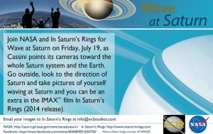 In Saturn's Rings Wave at Cassini Promo