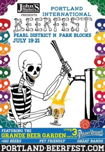 Portland International Brewfest promo Poster from PIB FB Page