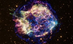 Cassiopeia A courtesy of NASA's Chandra X-Ray Observatory