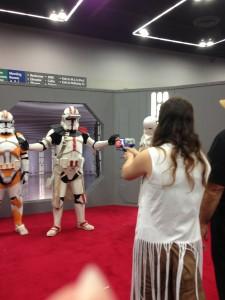 Nerf target Stormtrooper