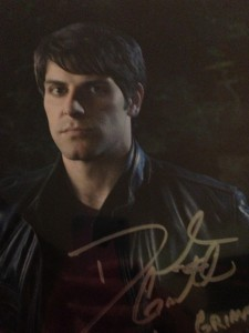 Gavid Giuntoli signed photo