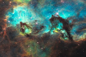 Gratuitous pic of the Seahorse Nebula in the  Large Magellanic Cloud courtesy of NASA