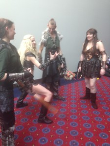 Xena Warrior Princess Cosplay at Portland Comic Con