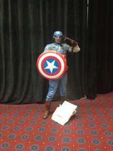 Captain America cosplay Portland Comic Con