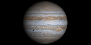 3 color view of Jupiter by NASA's Cassini space probe