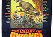 Movie Poster for The Valley of Gwangi