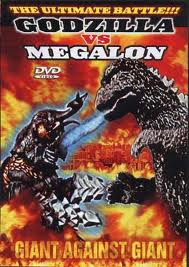 Godzilla vs. Megalon DVD cover