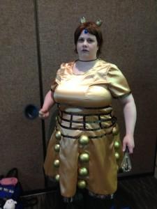 ECCC2014 Dalek Cosplay