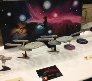Starfleet Fleet of Models ECCC2014