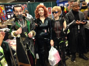 Loki, Black Widow and friends
