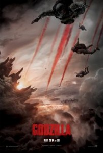 Promotional poster for Godzilla