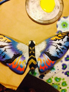 Mothra toy I'm using for my model