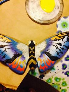 Mothra toy I'm using for my model
