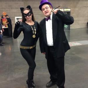 Classic Catwoman & Penguin