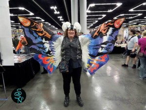 Mothra cosplay w/thanks to S. Shadow's Natural Photography