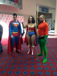 Superman, Wonder Woman, Aquaman RCCC2014