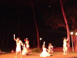 More Hula from the Luau