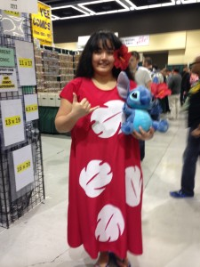 Lilo and Stitch cosplay