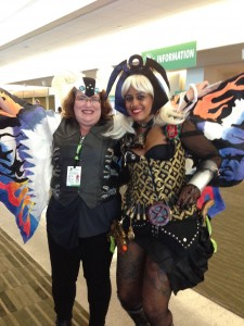 Steampunk Storm and Mothra